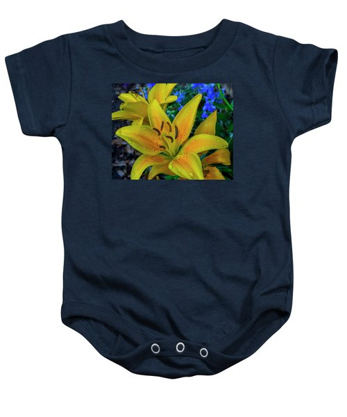 Asiatic Lily Baby Onesie