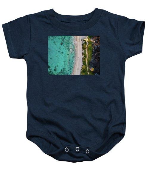 Makalawena Beach Baby Onesie