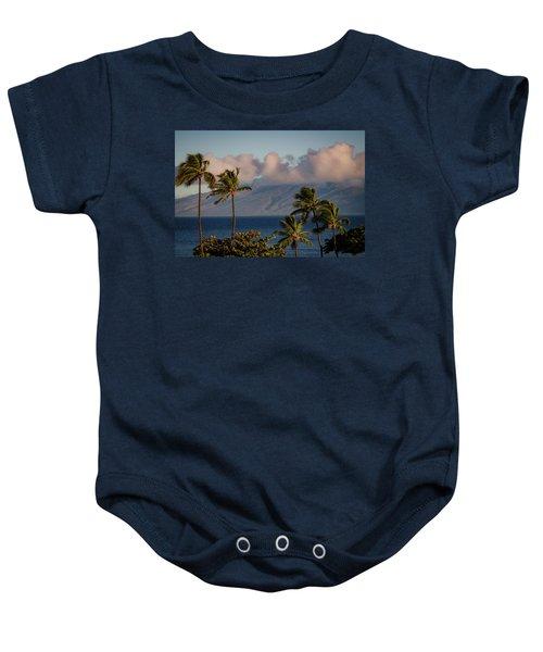 Maui Palms Baby Onesie