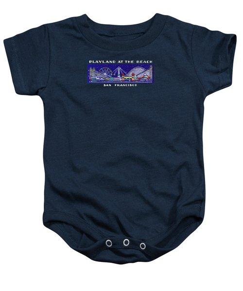 1935 Playland San Francisco Baby Onesie