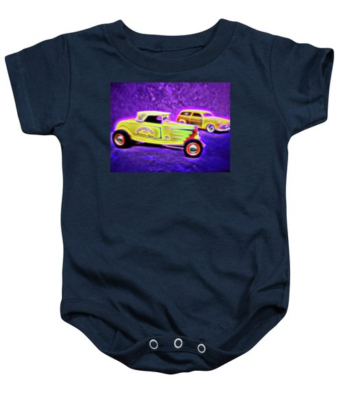 32 Roadster And 49 Woody Baby Onesie