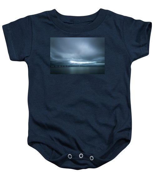 A Hole In The Sky Baby Onesie