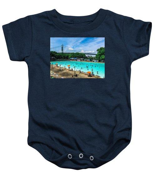 Astoria Pool Baby Onesie