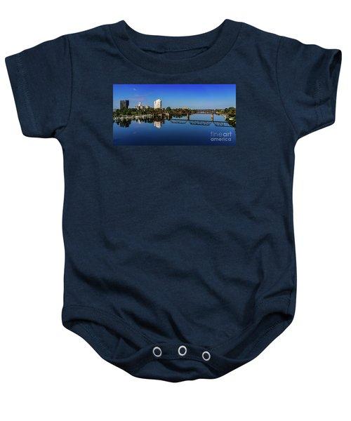 Augusta Ga Savannah River Panorama Baby Onesie