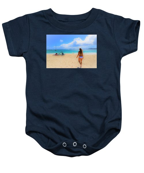Beach Day Baby Onesie