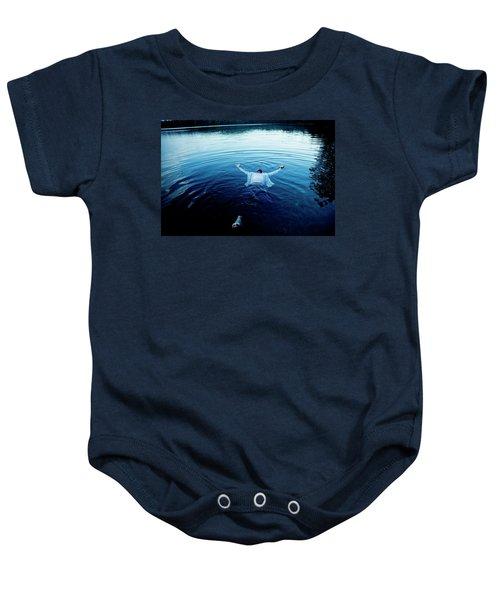 Blue Lake Baby Onesie
