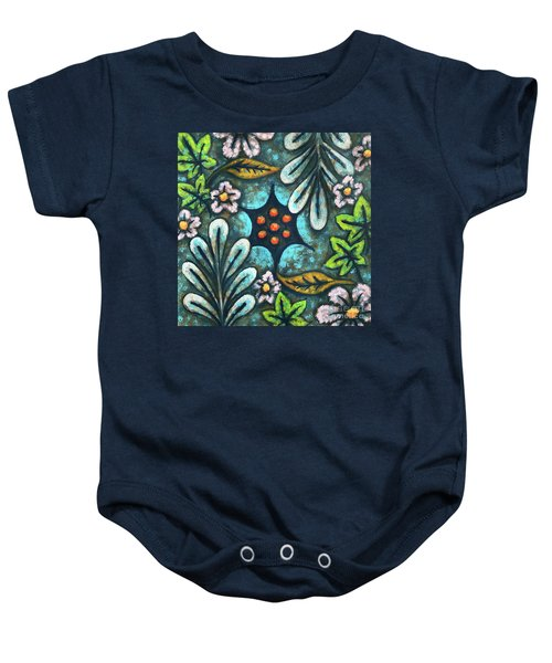 Blue Mood 2 Baby Onesie