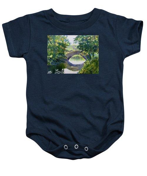 Bridge Over Gypsy Race Baby Onesie