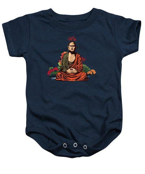 Buddhist Monk. Baby Onesie