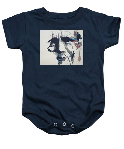 Chet Baker - Abstract  Baby Onesie