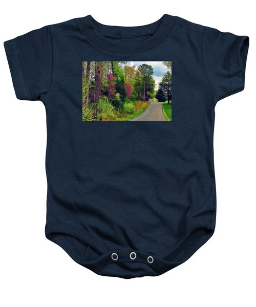 Country Road Take Me Home Baby Onesie