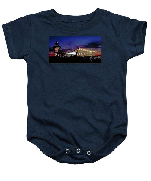 Dulles International Baby Onesie