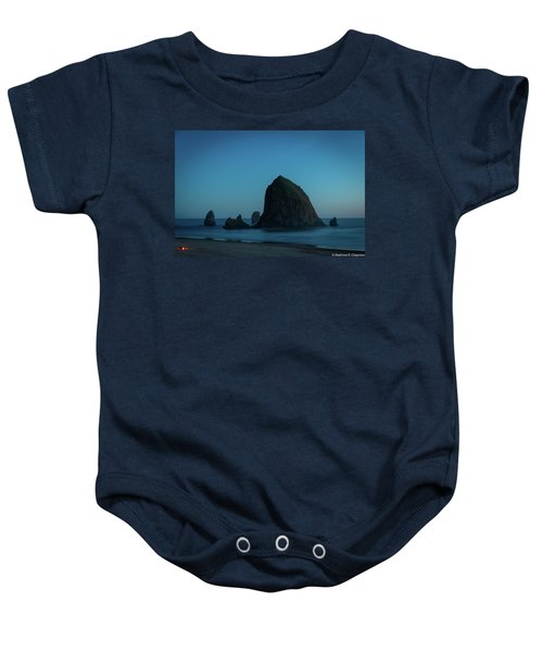 Haystack And Needles Baby Onesie