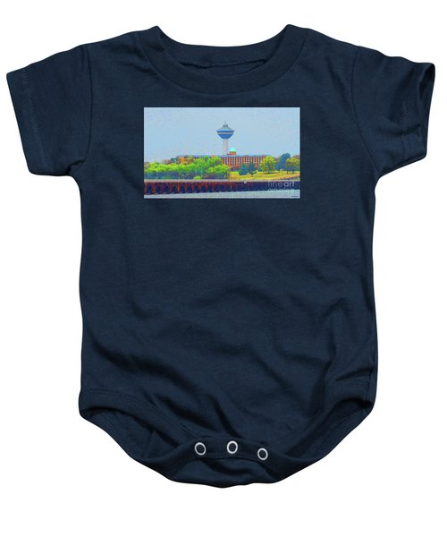 Hotel And Restaurant In Florence Alabama Baby Onesie