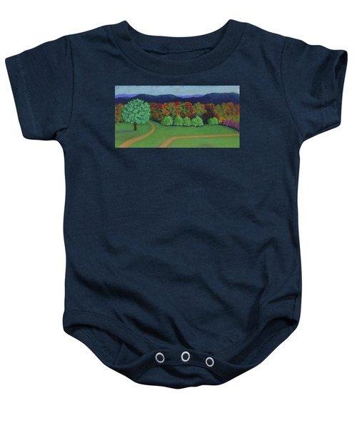 Hutchins Farm In Fall Baby Onesie