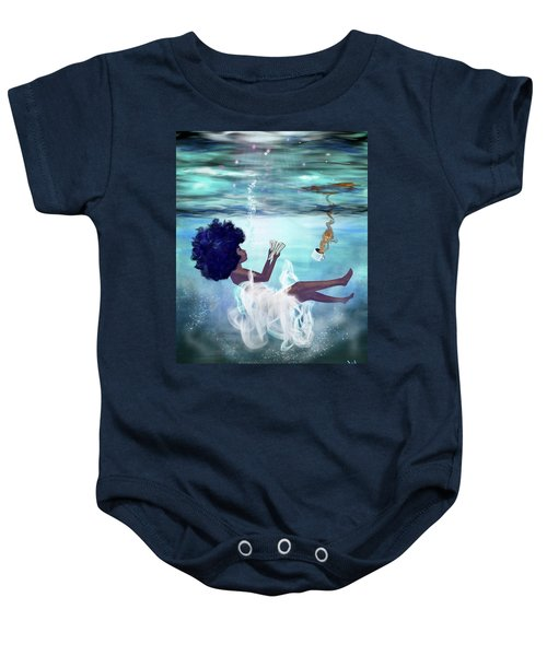 I Aint Drowning Baby Onesie
