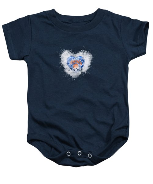 lOVE nEW yORK kICKS Baby Onesie