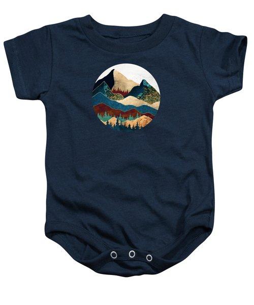 Malachite Mountains Baby Onesie