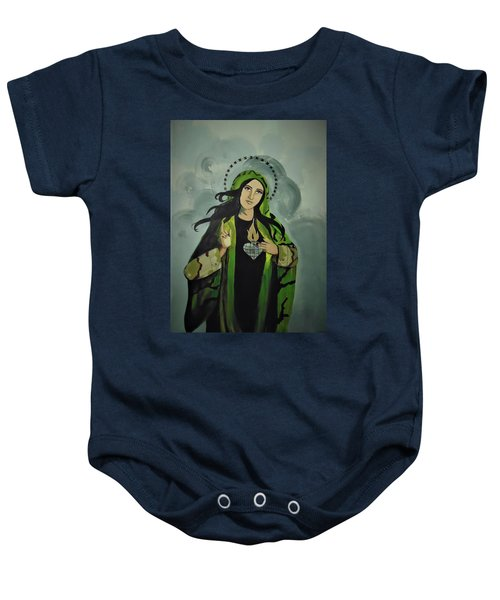 Our Lady Of Veteran Suicide Baby Onesie