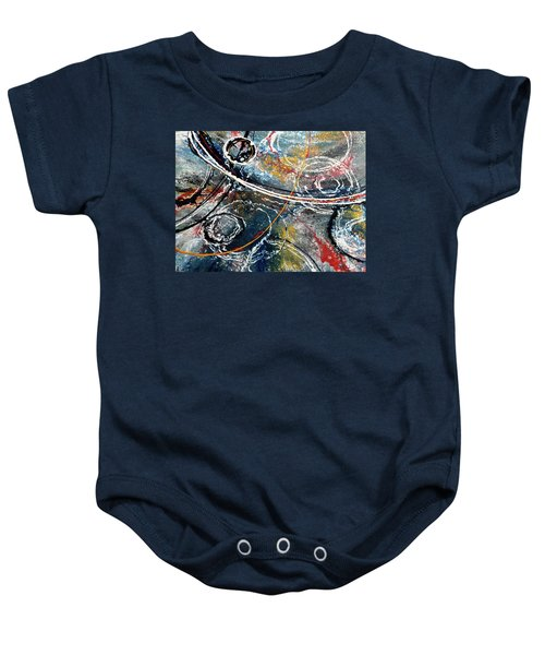 Paint Puddles Baby Onesie