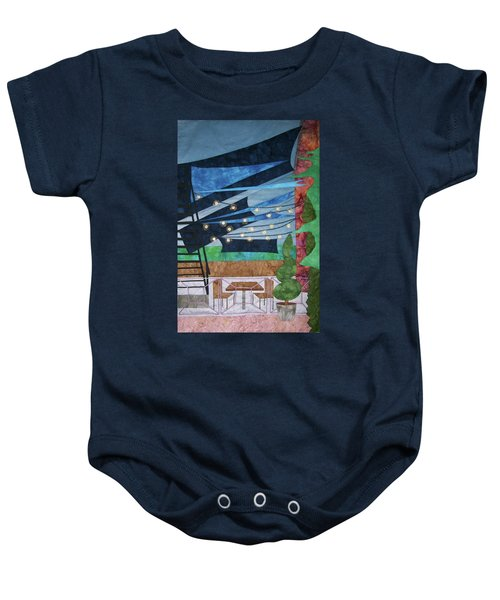 Patio At The Winds Baby Onesie