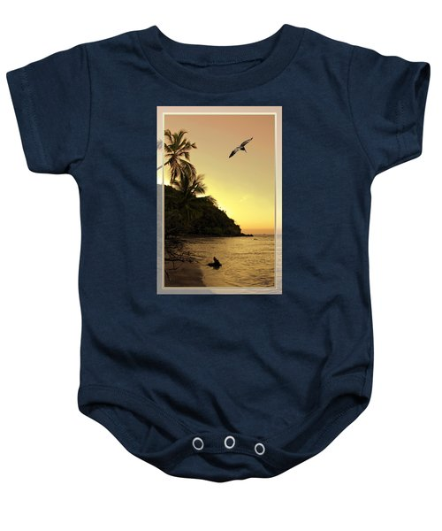 Pelican Sundown Baby Onesie