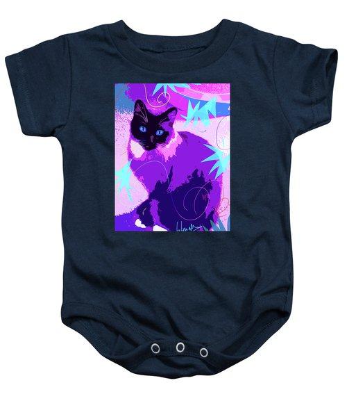 Pop Cat Cocoa Baby Onesie