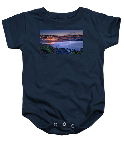 Porthmeor - Long Exposure Baby Onesie