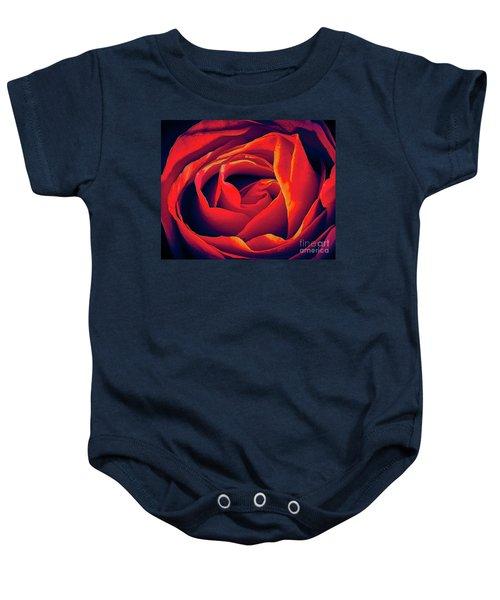 Rose Ablaze Baby Onesie