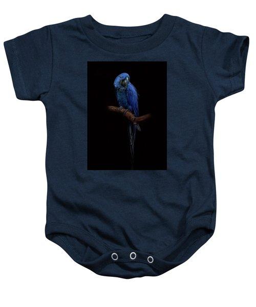 Royal Blue Beauty  Baby Onesie