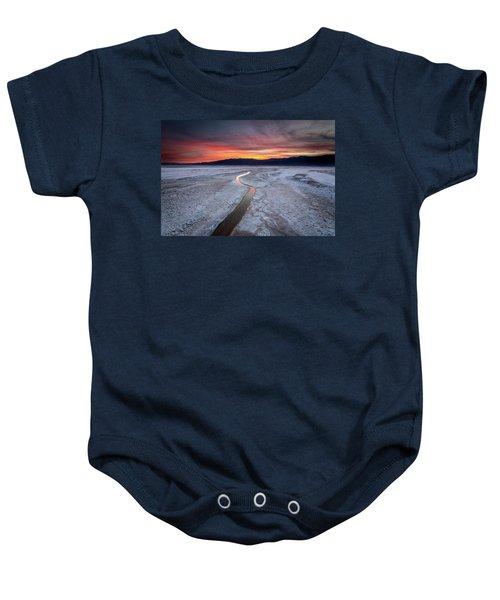 Salt Creek Flats Baby Onesie