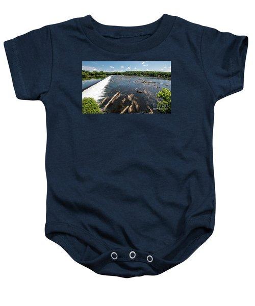 Savannah River Rapids - Augusta Ga Baby Onesie