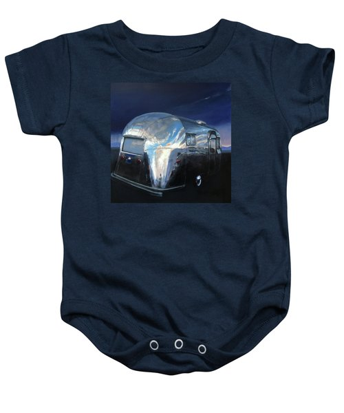 Shelter From The Approaching Storm Baby Onesie
