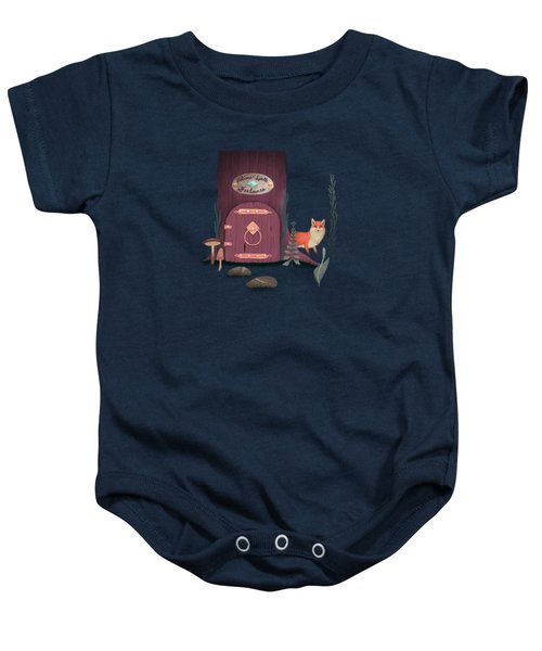 Sorcerer Of Woodland Charms Potions Spells And Fortunes Baby Onesie