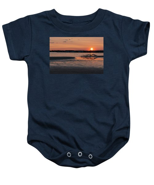 Soundview Sunset Baby Onesie