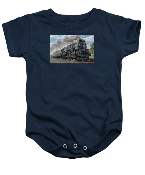 Steam Train  Baby Onesie