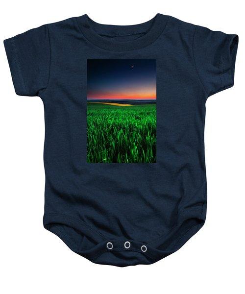 Twilight Fields Baby Onesie