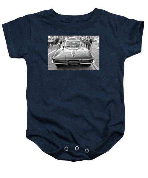 Vintage Corvette Baby Onesie