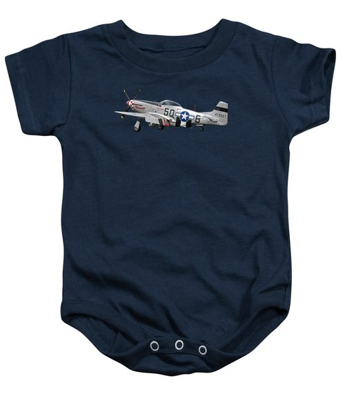 Well Earned Rest P-51 Baby Onesie