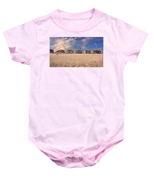 Dune Road Baby Onesie