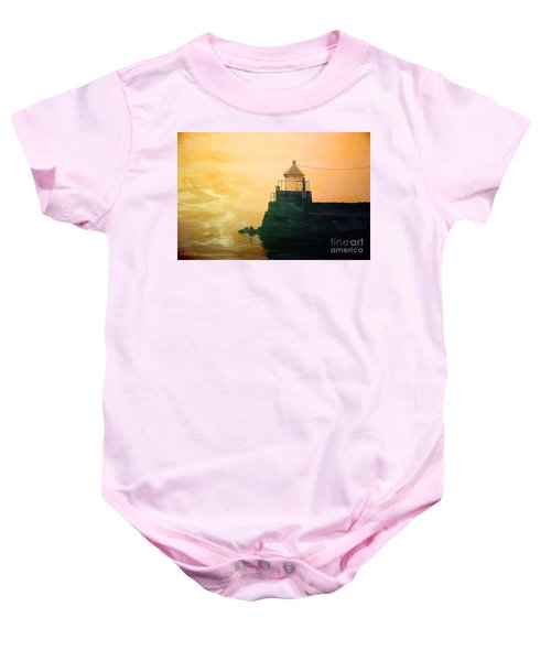 Fyllinga Lighthouse Baby Onesie