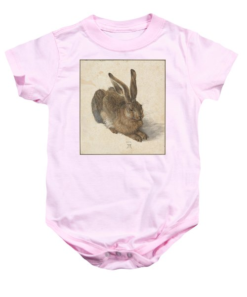 Young Hare Baby Onesie