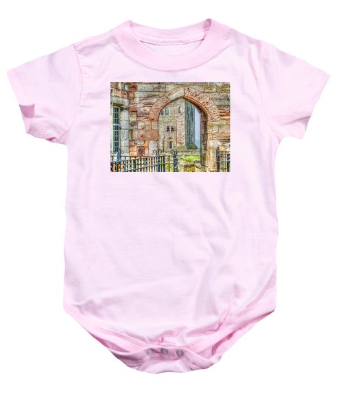 Through The Arch Baby Onesie