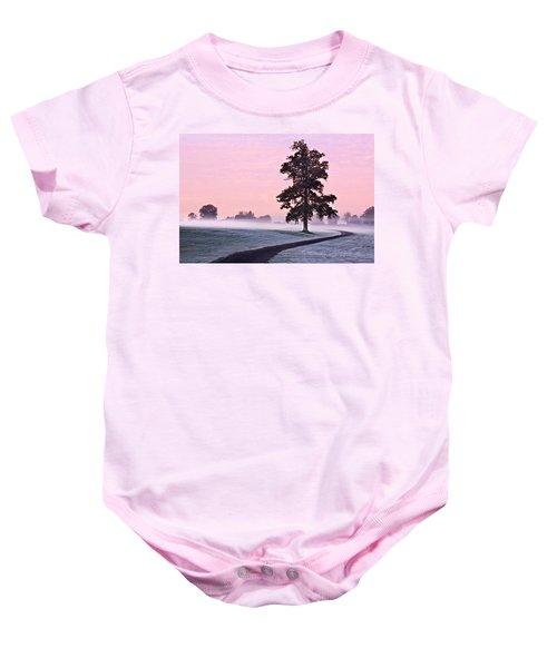 Tree At Dawn / Maynooth Baby Onesie