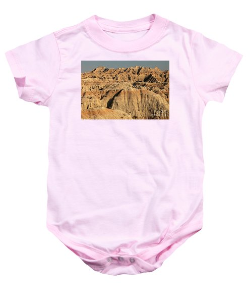 White River Valley Overlook Badlands National Park Baby Onesie