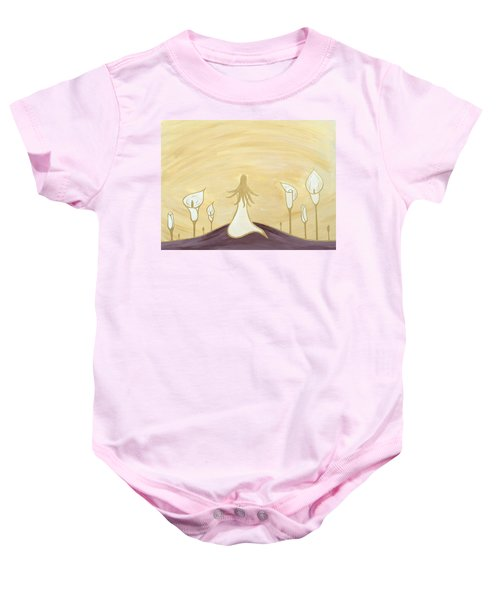 Lilies Of The Field Baby Onesie