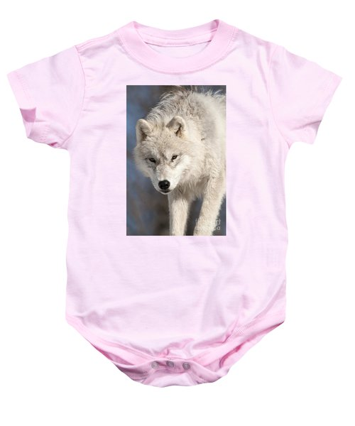 Arctic Wolf Pup Baby Onesie