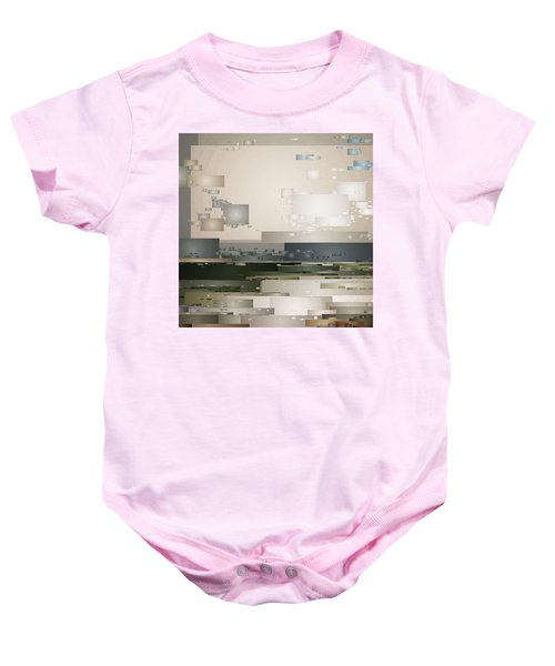 A Cloudy Day Baby Onesie