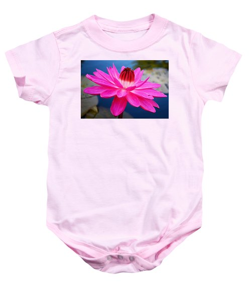 A Flower And A Dream... Baby Onesie