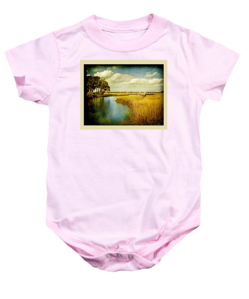 A Melancholy Afternoon Baby Onesie